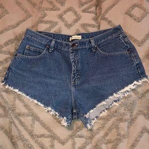 Handmade high waisted shorts